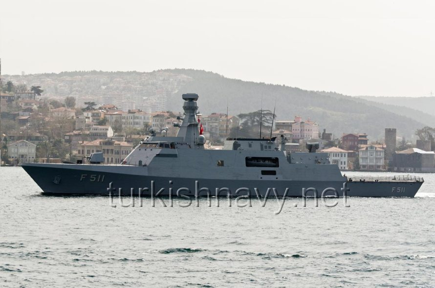 F-511 TCG Heybeliada. The new flagship of the BlackSeaFor.