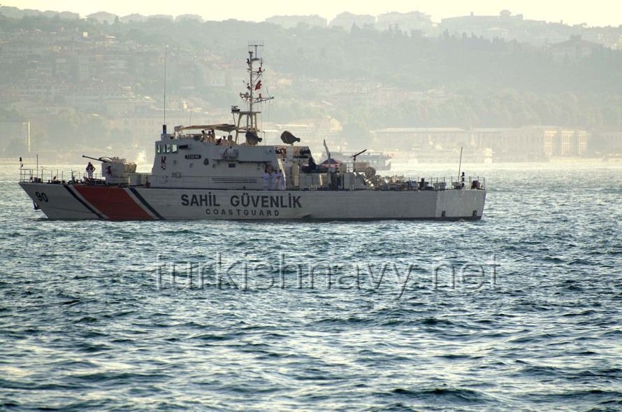Turkish coast guard vessel TCSG-90