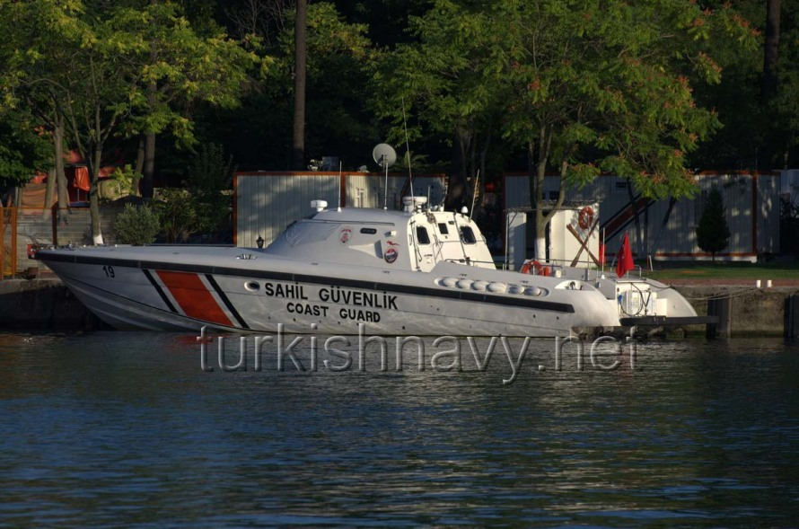Turkish coast guard vessel TCSG-19