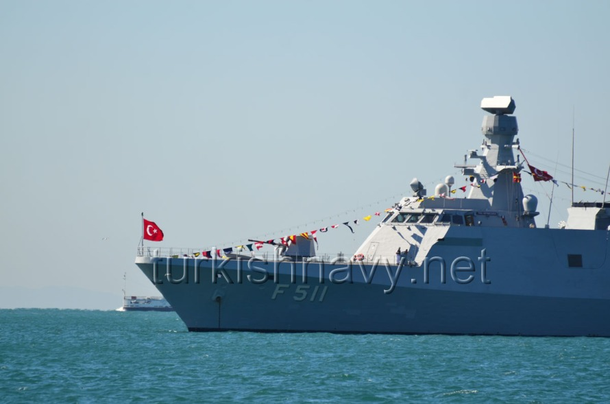 F-511 TCG Heybeliada, the first ship of the Milgem class corvettes
