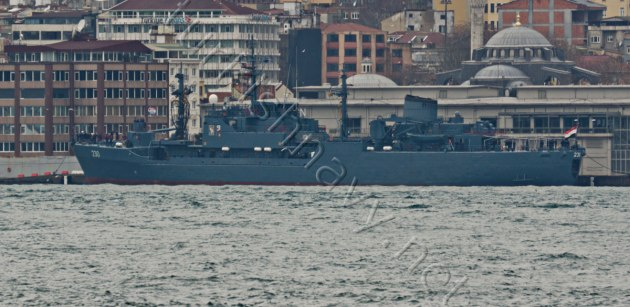 Egyptian supply ship A-230 Shalatein in Istanbul.