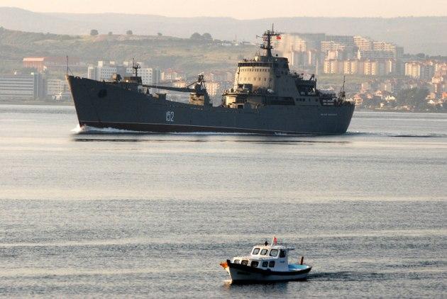 Alligator class landing ship Nikolay Filchenkov