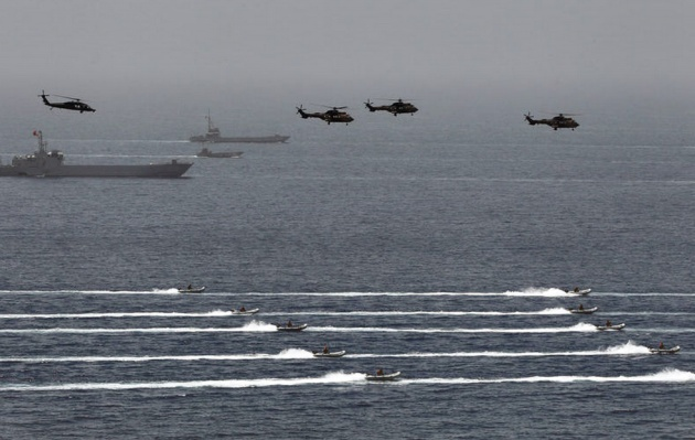 Turkish naval and airborne units are moving towards the beachhead.