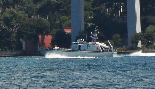 The myterious boat on Bosphorus.