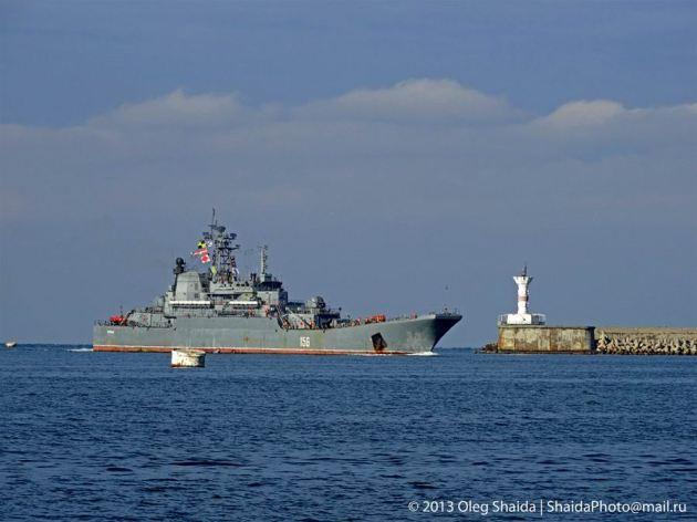 Yamal returning Sevastopol.