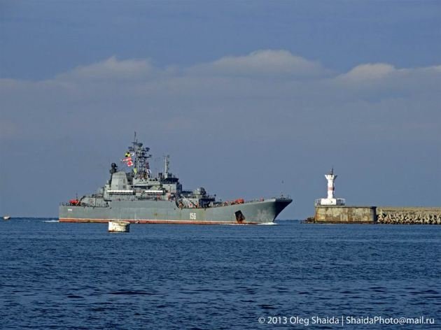 Yamal returning Sevastopol.