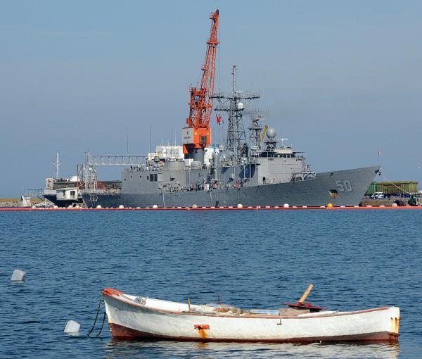 USS Taylor in Samsun.