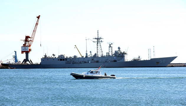 FF(G)-50 USS Taylor in Samsun. Photo: iha