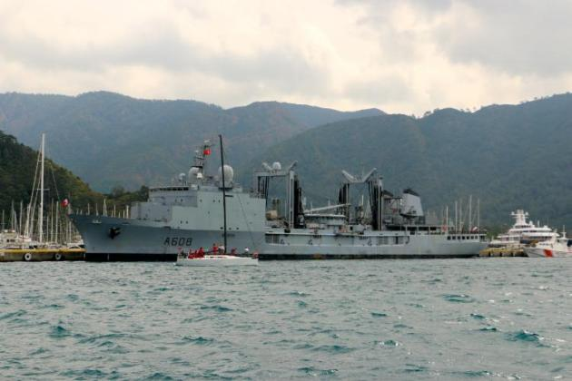 A-608 FS Var in Marmaris. Photo: yeniasir.com