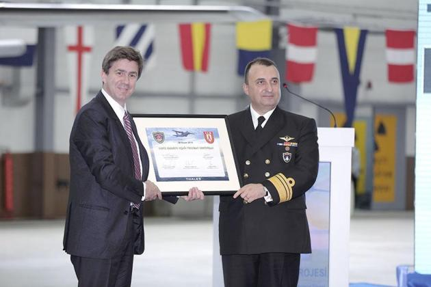 Thales delivers 5 planes and a certificate. Photo: Thales.