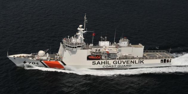 TCSG Yaşam Was Handed Over To Turkish Coast Guard