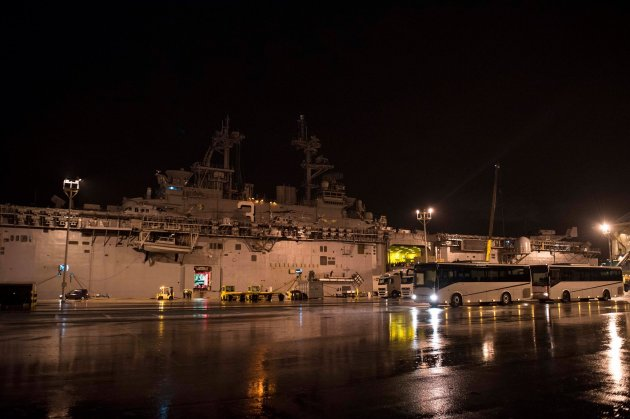 LHD-3 USS Kearsarge in Rote, Spain. Photo: US Navy