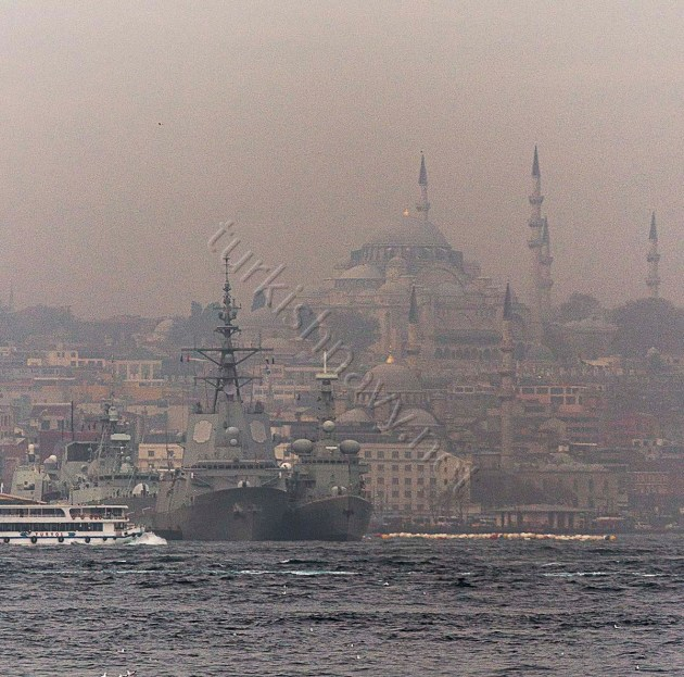 SNMG-1 is in Istanbul.