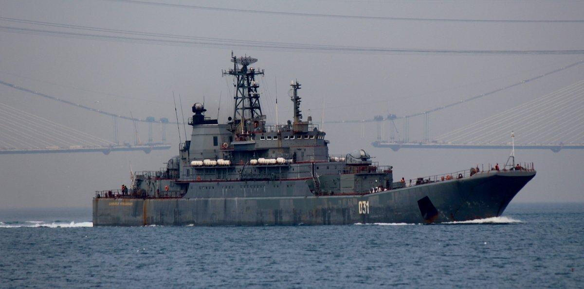 """Передовики """"Сирийского экспресса"""" из чиcла российских БДК"""