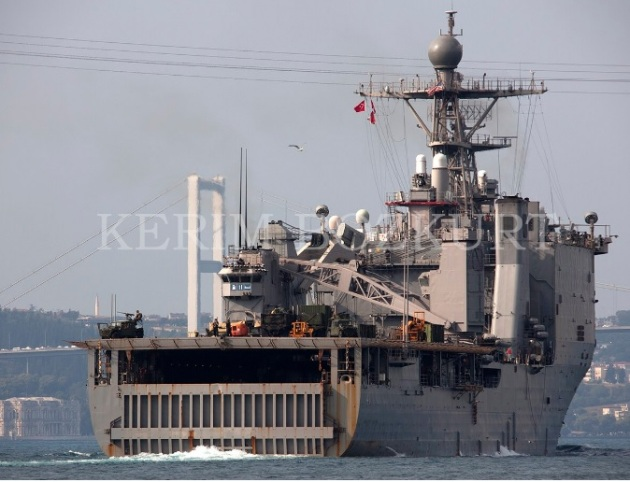 USS Whidbey Island returned from the Black Sea. Photo: Kerim Bozkurt.