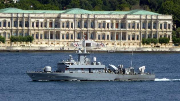 Greek fast attack craft returned from her Black Sea deployment. Photo: Alper Böler.