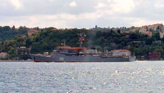 Russian training ship Smolnyy heads to the Black Sea with hundreds of cadets on decks.