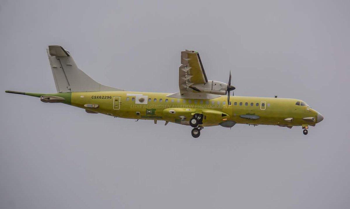 Aeronaves ATR 72-600 ASW antisubmarino da Marinha da Turquia